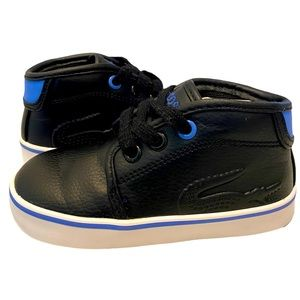 LACOSTE ToddlerBoy's Ampthill316 High Top Sneakers